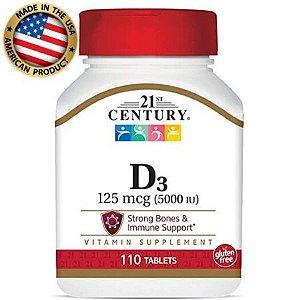 Vitamina D3 - (110 tabs) - 21 st Century