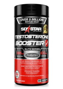 Testosterone Booster - (60 caps) - Six Star - Muscletech