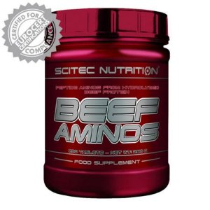 Beef Aminos - (500tablets) - Scitec Nutrition  (Europeia)