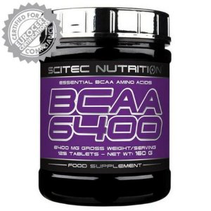 Bcaa 6400 - Scitec Nutrition (Europeia)