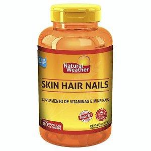 Skin Hair Nails - (60 caps) - Natural Weather