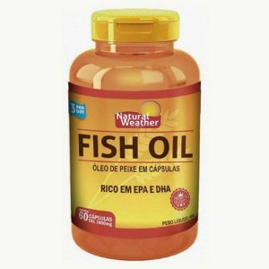 Fish Oil 1000mg - (60soft.) - Natural Weather