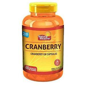 Cranberry - (60 caps) - Natural Weather