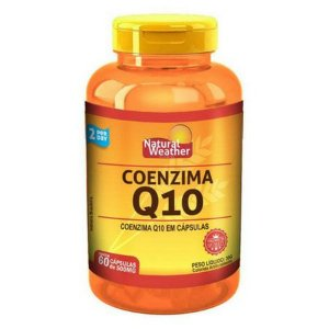 Coenzima Q10 100mg - (60 caps) - Natural Weather