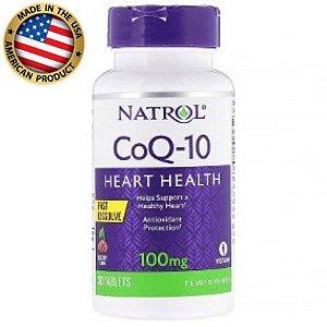 Coenzima Q10 - Fast Dissolve - 100 mg - (30 tabs) - Natrol