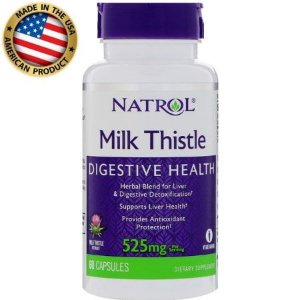 Milk Thistle Digestive Health - 525mg - (60 caps) - Natrol