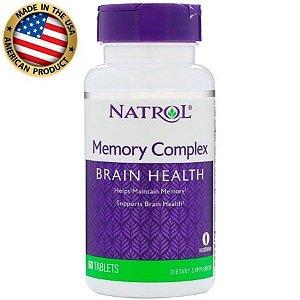 Memory Complex Brain Health - (60 caps) - Natrol