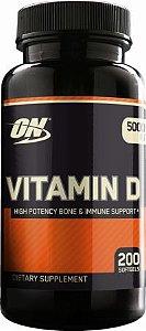 Vitamina D3 5.000 IU - (200caps) - Optimum Nutrition