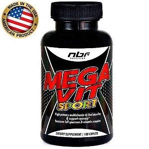 Mega Vit Sport Multivitamínico - (100 caps) - NBF Nutrition
