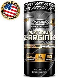 Platinum 100% L-Arginine - (100 caps) - Muscletech