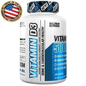 Vitamina D3 5.000 IU - (360 caps) - Evolution Nutrition
