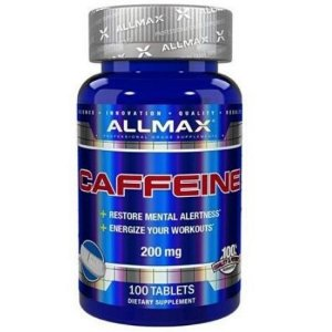 Caffeine 200mg - (100 caps) - Allmax Nutrition