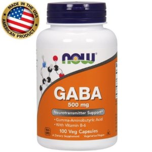 Gaba - (100 caps) - 500mg - Now Sports