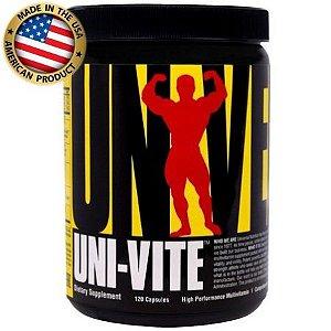 Multivitamínico Uni-Vite - (120 caps) - Universal Nutrition