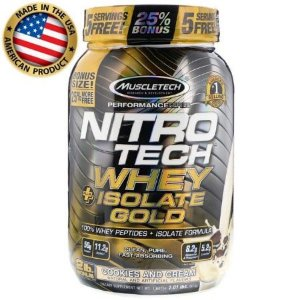 Nitro Tech Whey Isolate Gold - (913g) - Muscletech