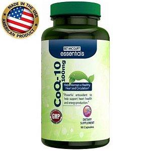 Coenzima Q10 - 100mg - (90 caps) - Betancourt Nutrition