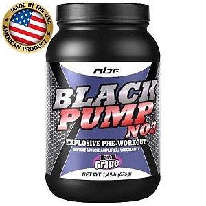 Pré treino - Black Pump NO3 - (675g) - NBF Nutrition