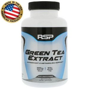 Green Tea Extract (chá Verde) - 500mg - (100 caps) - Rsp Nutrition