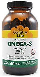 Omega-3 - Importado - Country Life