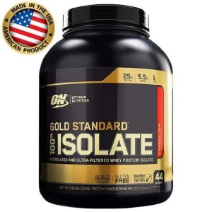 Whey Protein 100% Isolado - Gold Standard - Optimum Nutrition