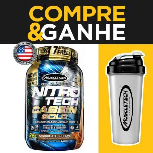 Nitro Tech Caseína Gold - (1,13kg) - Muscletech