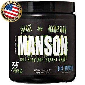 Dark Metal Manson - (35 doses) - Pré treino - Insane Labz