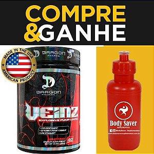Mr.Veinz - (40 doses) - pré treino -  Dragon Pharma