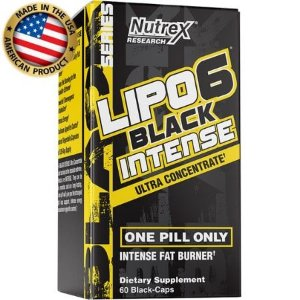 Lipo 6 Black Intense - (60 caps) - Nutrex
