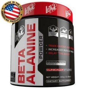 Beta Alanina - (100 doses) - ( 300g ) - Lethal Supplement