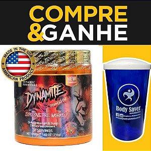 Dynamite - pré treino importado - (30 doses) - Dynamic Formulas