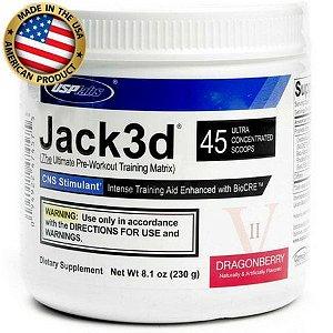 Jack3d (230g) - Pré Treino Ultra Concentrado - USP Labs