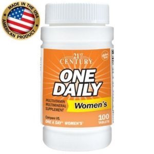 Multivitamínico One Daily Womens - (100 tabs) - 21 Century