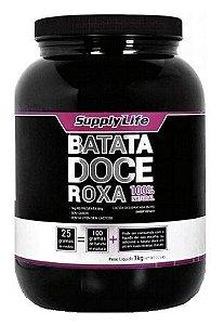 Batata Doce Roxa (1kg) - Supply Life