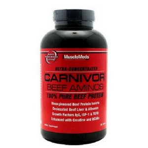 Carnivor Beef Aminos - (270 Caps) - MuscleMeds