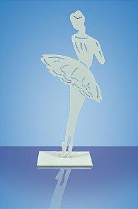 Bailarina vazada Branca.