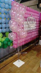 Base de Decoração Com 10 Balões