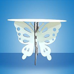 Mesa borboleta branca.