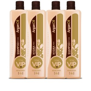 Progressiva Vip Argan Oil New Vip Combo 02 kits  (4 X 1 LITRO)