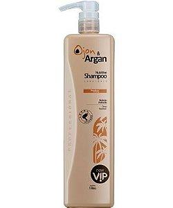 Vip Ojon e Argan Shampoo Nutritive Litro New Vip