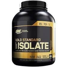 100% GOLD STANDARD ISOLATE - OPTIMUM NUTRITION