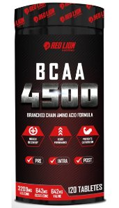 BCAA 4500 120 TABLETS -  RED LION