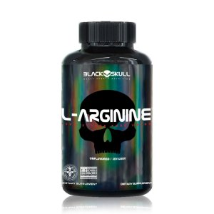 L-ARGININA 120 TABLETS BLACK SKULL