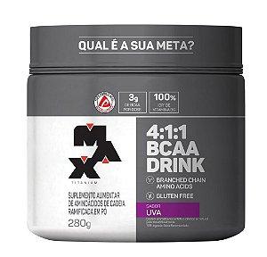 4:1:1 BCAA DRINK PÓ - 280G - MAX TITANIUM