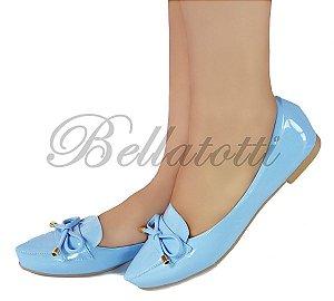 Sapatilha Bellatotti Liscia Blu