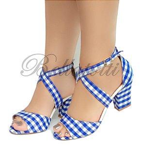 Sandália Picnic Blu