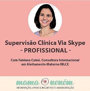 Supervisão clínica à distância via Skype com Fabiana Cainé