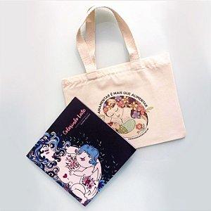 Livro de Colorir Mama Neném: Colorindo Leite + Mini Ecobag e Mini Pôster