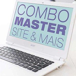 Combo Master Design Pequeno Empreendedor: Site + Peças Gráficas