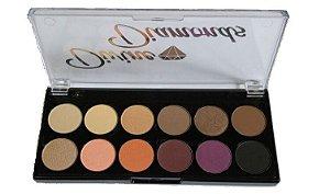 Paleta 12 cores de Sombra Divine Dimonds - Cesar Annunciação