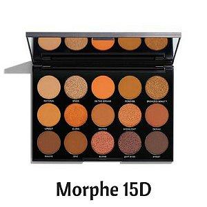 Paleta de Sombra com 15 cores - Morphe Brushes